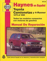 Camionetas Toyota & 4-Runner Manual De Reparacion - Warren, Larry/ Haynes, John Harold/ Sanchez, Arnaldo, Jr. (EDT) - ISBN: 9781563921599