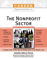 Career Opportunities In The Nonprofit Sector - Burns, Jennifer Bobrow - ISBN: 9780816060047