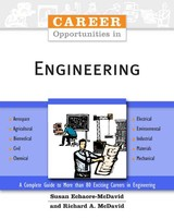 Career Opportunities In Engineering - Mcdavid, Richard A.; Echaore-McDavid, Susan - ISBN: 9780816061532