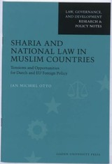 Sharia And National Law In Muslim Countries - Otto, Jan Michiel - ISBN: 9789087280482