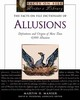 Facts On File Dictionary Of Allusions - Manser, Martin H. - ISBN: 9780816079070