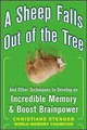 A Sheep Falls Out of the Tree: And Other Techniques to Develop an Incredible Memory and Boost Brainpower - Stenger, Christiane - ISBN: 9780071615013