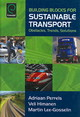 Building Blocks For Sustainable Transport - Perrels, Adriaan; Lee-gosselin, Martin; Himanen, Veli - ISBN: 9780080447094