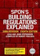 Spon's Building Regulations Explained - London District Surveyors Association; Stephenson, John - ISBN: 9780415430678