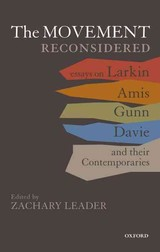 Movement Reconsidered - Leader, Zachary (EDT) - ISBN: 9780199558254