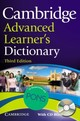 Cambridge Advanced Learner's Dictionary Hardback With Cd-rom For Windows And Mac Klett Edition - (NA) - ISBN: 9783125179899