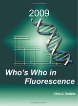 Who's Who In Fluorescence 2009 - Geddes, Chris D. (EDT) - ISBN: 9781441901903
