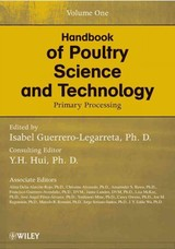 Handbook Of Poultry Science And Technology - ISBN: 9780470185520