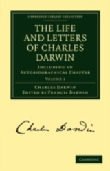 Life And Letters Of Charles Darwin: Volume 1 - Darwin, Charles - ISBN: 9781108003445