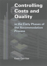 Controlling Costs and Quality - C.  Gerritse - ISBN: 9789065621719