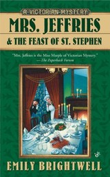 Mrs. Jeffries And The Feast Of St. Stephen - Brightwell, Emily - ISBN: 9780425224274