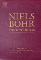 Niels Bohr - Collected Works, Niels Bohr - Collected Works - ISBN: 9780444532916