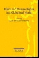 Ethics And Human Rights In A Globalized World - Hoffmann-holland, Klaus (EDT) - ISBN: 9783161499920