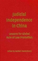 Judicial Independence In China - ISBN: 9780521190268
