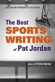 Best Sports Writing Of Pat Jordan - Belth, Alex - ISBN: 9780892553396