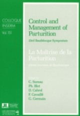 Control And Management Of Parturition - ISBN: 9780861960965