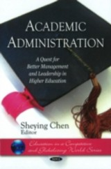 Academic Administration - Chen, Sheying (EDT) - ISBN: 9781607417323