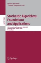 Stochastic Algorithms: Foundations And Applications - ISBN: 9783642049439