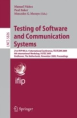 Testing Of Software And Communication Systems - ISBN: 9783642050305
