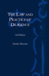 Law And Practice Of Diligence - Maher, Gerry, Qc - ISBN: 9781847660800