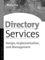 Directory Services - Cox, Nancy - ISBN: 9780080491189