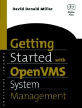 HP Technologies, Getting Started with OpenVMS System Management - Miller, David - ISBN: 9780080495026