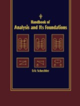 Handbook Of Analysis And Its Foundations - Schechter, Eric - ISBN: 9780080532998