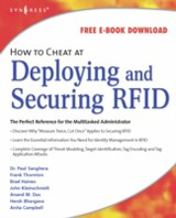 How to Cheat, How to Cheat at Deploying and Securing RFID - Thornton, Frank; Sanghera, Paul - ISBN: 9780080556895