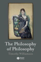 The Philosophy Of Philosophy - Williamson, Timothy - ISBN: 9780470695913