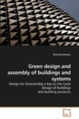 Green Design And Assembly Of Buildings And Systems - durmisevic, elma - ISBN: 9783639112627