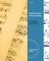 Harmony And Voice Leading - Aldwell, Edward; Schachter, Carl; Cadwallader, Allen - ISBN: 9780495905424