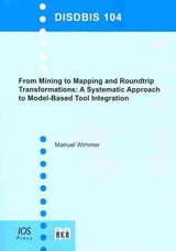 From Mining To Mapping & Roundtrip Trans - Wimmer, M. - ISBN: 9781607500704