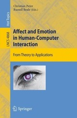 Affect And Emotion In Human-computer Interaction - Peter, Christian (EDT)/ Beale, Russell (EDT) - ISBN: 9783540850984