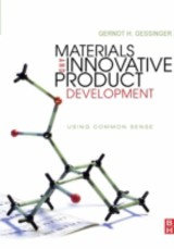 Materials and Innovative Product Development - Gessinger, Gernot H. - ISBN: 9780080878201