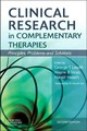 Clinical Research in Complementary Therapies - ISBN: 9780443069567