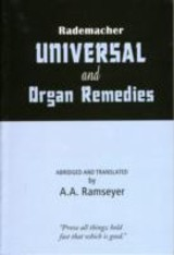 Rademacher Universal & Organ Remedies - Ramseyer, A.a. - ISBN: 9788180562457