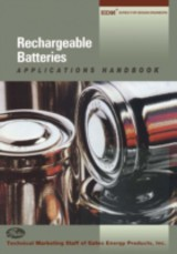 EDN Series for Design Engineers, Rechargeable Batteries Applications Handbook - Gates Energy Products - ISBN: 9780080515939