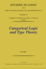 Categorical Logic And Type Theory - Jacobs, B. - ISBN: 9780080528700