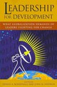 Leadership For Development - Rondinelli, Dennis A. (EDT)/ Heffron, John M. (EDT) - ISBN: 9781565492929