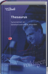 Van Dale Thesaurus - ISBN: 9789066488779