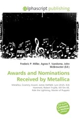 Awards and Nominations Received by Metallica - ISBN: 9786130790974