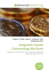 Linguistic Issues Concerning the Euro - ISBN: 9786130792725