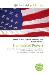 Enumerated Powers - ISBN: 9786130775865