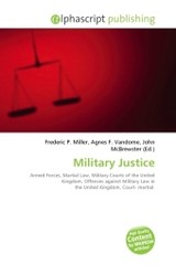 Military Justice - ISBN: 9786130775834