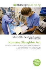 Humane Slaughter Act - ISBN: 9786130787653