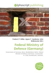 Federal Ministry of Defence (Germany) - ISBN: 9786130794408