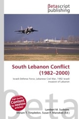 South Lebanon Conflict (1982?2000) - ISBN: 9786130536923