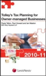 Tolley's Tax Planning For Owner-managed Businesses - Tallon, Paula; Howard, Paul; Maston, Ian - ISBN: 9780754539117