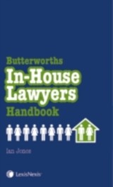 In-house Lawyers Handbook - Jones, Ian - ISBN: 9781405755504