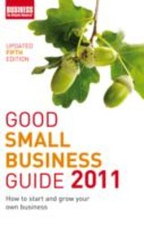 Good Small Business Guide 2011 - ISBN: 9781408134764